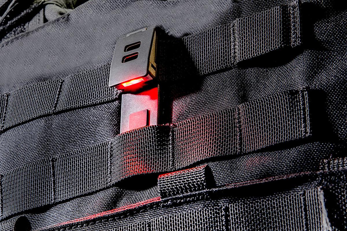 QuiqLiteX Red/White LED